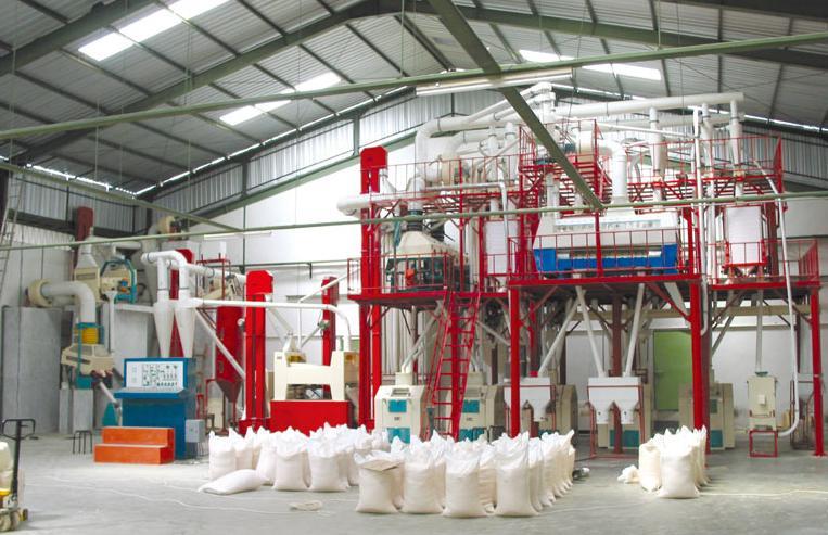 milling-plant