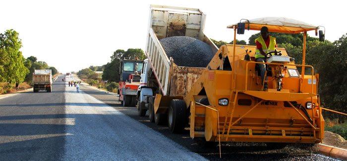 road contruction site
