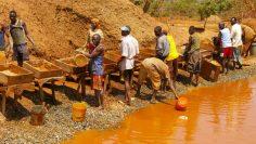 Gold miners zambia